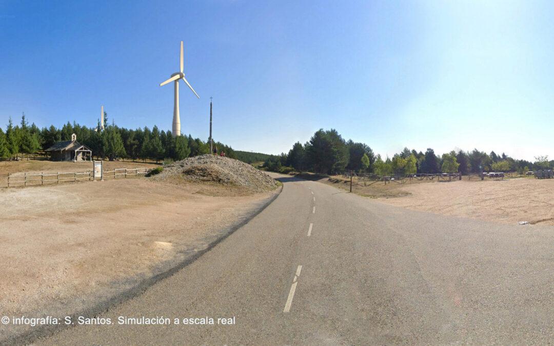 Las asociaciones de amigos del Camino de Santiago se posicionan en contra del parque eólico proyectado en el entorno de la Cruz de Ferro