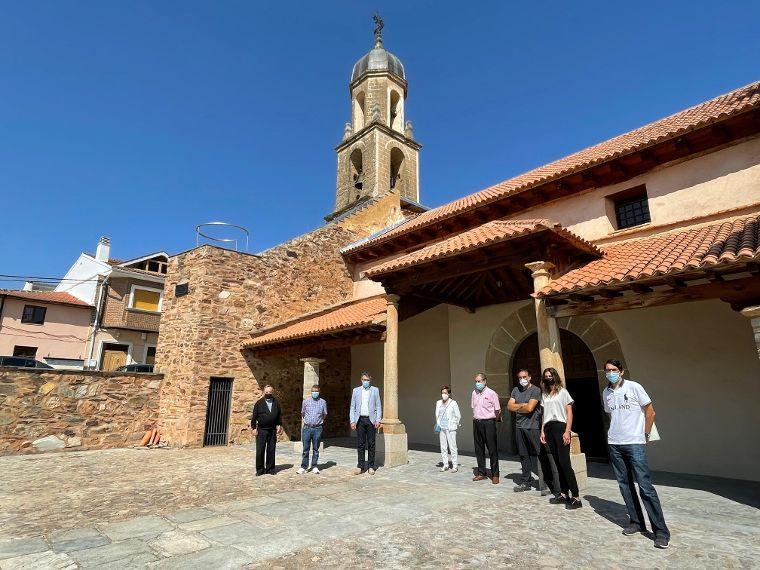 Concluyen las obras de conservación en la Iglesia de San Esteban de Alija del Infantado tras una inversión de 48.500 euros