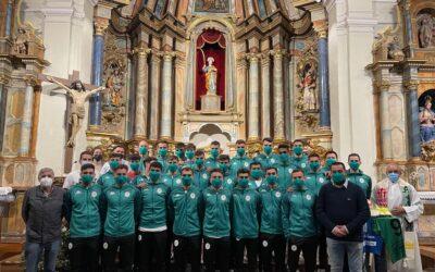 Ofrenda del Atlético Astorga a la patrona, Santa Marta