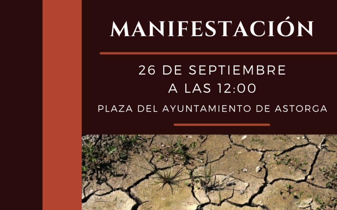 Los vecinos de San Martín del Agostedo se concentrarán en Astorga contra la ampliación de la gravera ya existente en el municipio
