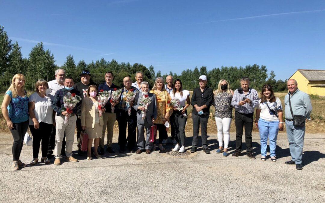 Ferreras de Cepeda homenajea a los militantes más veteranos del PSOE