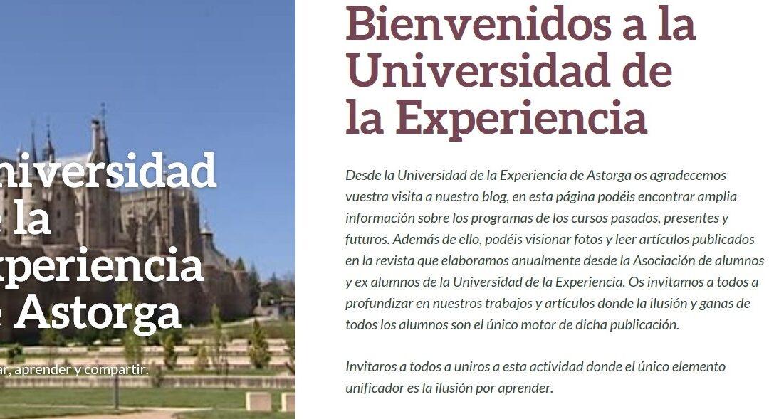 La Universidad de la Experiencia abre el segundo plazo de matrícula para el nuevo curso