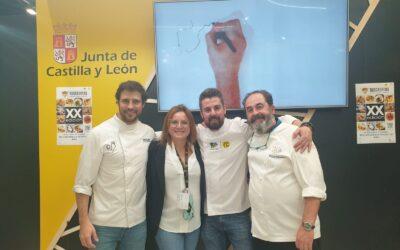 Restaurante Serrano nos muestra el potencial alimentario de los productos de Castilla y León en el Salón Gourmets de Madrid