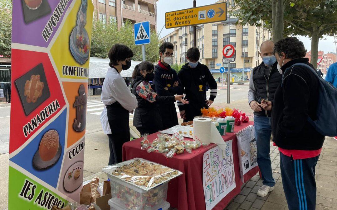 Una iniciativa dulce de los alumnos del Instituto de Astorga para ayudar a los damnificados por el volcán de La Palma