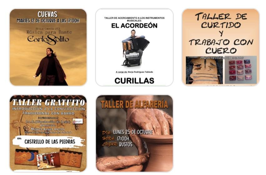 El Ayuntamiento de Valderrey reparte cultura con distintos talleres por sus pueblos